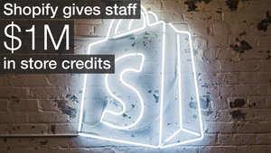 """شركة """"shopify"""" تمنح مليون دولار لموظفيها بموسم الأعياد"""
