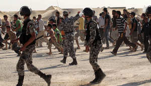 الأردن: اعتصام أمام الزعتري لمنع اللاجئين من العمل خارج المخيم