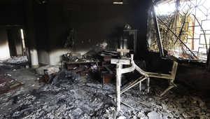 الليبي أبوختالة لـCNN: مقتل السفير الأمريكي ببنغازي كان بسبب اختناقه محاولا احراق وثائق مهمة
