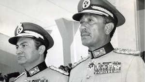 السادات وحسني مبارك