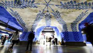 أغرب وأجمل محطات المترو في أوروبا