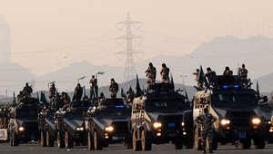 القوات الخاصة السعودية خلال تمرين عسكري ، مكة 10 نوفمبر/ تشرين الأول 2010