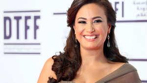الممثلة التونسية هند صبري بمهرجان الدوحة ترايبيكا السينمائي في نوفمبر 2012