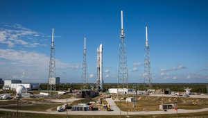 """تأجيل إطلاق قمر صناعي """"بصاروخ مكوكي"""" بسبب عاصفة فلوريدا"""