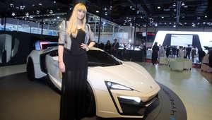 السيارة تم عرضها في معرض قطر الدولي للسيارات في يناير 2013 بالدوحة