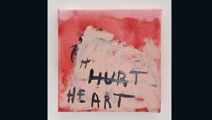"""""""بكيت لإني احببتك"""" هو عنوان معرضها... شاهد فنها المثير للجدل"""
