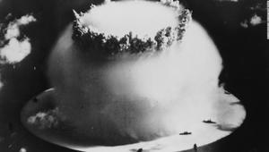 ماذا حصل لسفن أمريكية كانت قريبة من اختبار نووي؟