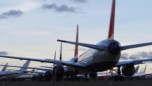 """هذا """"مطار الأشباح"""".. حيث ترقد الطائرات المهجورة"""
