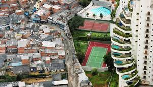 """مشروع في """"مدينة الفردوس"""" البرازيلية يفصل بين الأثرياء والفقراء"""
