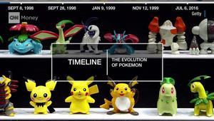 بوكيمون من 1998 وحتى 2016