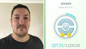 "رجل يدعي خسارة 12 كيلوغراماً بعد لعب ""بوكيمون غو"""