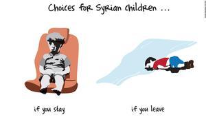 من آلان إلى عمران: الموت غرقا أو تحت القصف