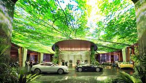 أول غابة استوائية في العالم داخل فندق..في دبي