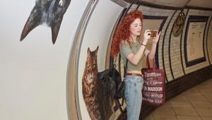 من دفع 26 ألف دولار لوضع صور قطط في محطة بلندن؟