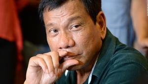 الرئيس الفلبيني، رودريغو دوترتي