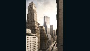 قباب ضخمة ومطارات في الهواء.. شاهد نيويورك في عالم موازٍ