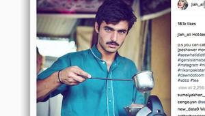 صورة تقلب حياة بائع الشاي الوسيم هذا