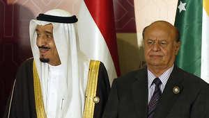 ارشيف- العاهل السعودي مع الرئيس اليمني
