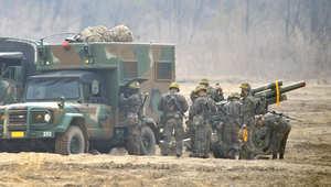 وكالة: تبادل إطلاق نار مدفعي بين كوريا الشمالية وجارتها الجنوبية