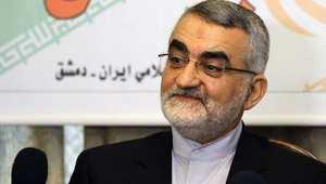 علاء الدين بروجردي رئيس لجنة الأمن القومي والسياسة الخارجية في مجلس الشورى الإسلامي الإيراني