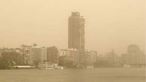 القاهرة خلال عاصفة رملية- صورة أرشيفية