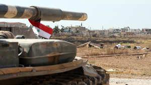 الجيش السوري يسيطر على حقول الغاز شرق حمص من داعش.. ومقتل 11 طفلا بقصف على مدرسة بدمشق