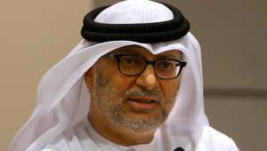 أنور قرقاش وزير الدولة للشؤون الخارجية في الإمارات العربية المتحدة
