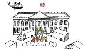 ديكور البيت الأبيض سيتغير..والمسؤول ترامب