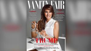 ميلانيا ترامب تظهر على غلاف مجلة Vanity Fair Mexico بالمكسيك