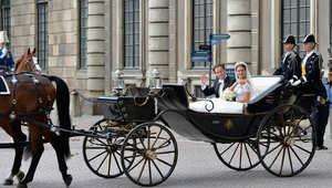عربات خيول ملكية لحفلات زفاف الأمراء..تعيد أسطورة ألف ليلة وليلة