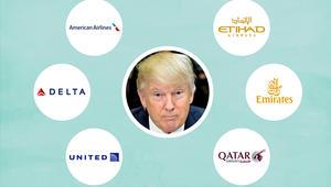 شركات الطيران الأمريكية تزعم الفوز في نزاع دعم قطر