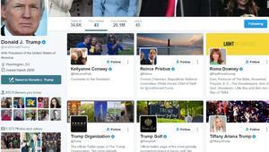 هذا ما يراه دونالد ترامب عندما يدخل الى حسابه على تويتر!