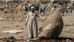 """وزارة الآثار المصرية ترد على انتقادات """"تمثال رمسيس"""""""