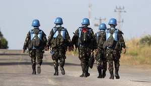 جنود فلبينيون في قوات حفظ السلام بالجولان