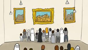 ما هي القيمة التي يدفعها العربي للوحة فنية؟