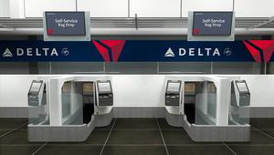 """""""دلتا"""" توفر آلات لمسح وجوه المسافرين بإجراءات الطيران"""