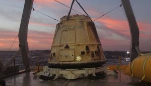 """""""سبيس إكس"""" تنجح بإعادة استخدام مركبة فضائية"""