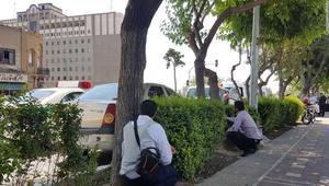 شاهد.. إطلاق نار خارج مقر البرلمان الإيراني