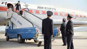 """ادخل إلى طائرة """"اير كوريو"""" بكوريا الشمالية"""