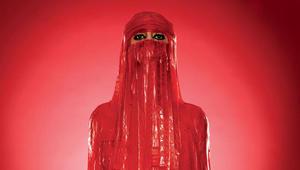 واستخدمت بابازاده في أحد المشاريع أكثر من 500 قطعة من شرائح الفاكهة الهلامية، لصنع تمثال برقع يتسع لها.