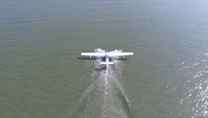 شاهد.. شركة صينية تطوّر طائرة برمائية ذاتية القيادة