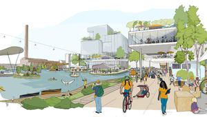 غوغل تخطط لبناء حيٍّ من المستقبل في كندا