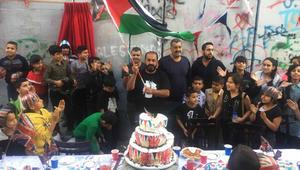 حفل شاي على شرف بلفور للفلسطينيين بحضور