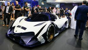 من دبي.. اسمعوا صوت محرك أسرع سيارة في العالم!