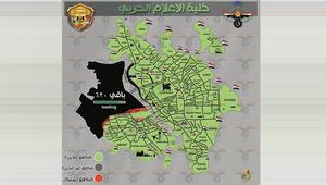 جيش العراق ينشر خريطة لتقدمه بالموصل وما تبقى لاستعادة المدينة