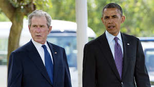 """نيويورك، الولايات المتحدة الأمريكية (CNN)—بعد اعتماد الرئيس الأمريكي، باراك أوباما للهجوم الجوي على تنظيم الدولة الإسلامية في العراق والشام أو ما يُعرف بـ""""داعش،"""" هل بدأ بالتحول عن سياسات وقف الحروب التي هتف فيها عاليا خلال حملتيه الانتخابيتين؟"""
