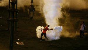 عشية تنصيب السيسي: اشتباكات عنيفة بين مؤيدي الإخوان والأمن ودعوات لمظاهرات الأحد