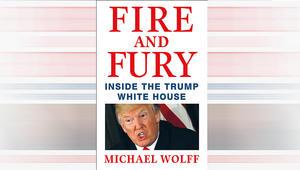 ترامب عن كتاب النار والغضب: مزيف ولم اتحدث معه حول الكتاب أبدا