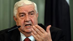 وزير الخارجية السوري، وليد المعلم