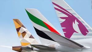 شركات الطيران الخليجية تتوسع شرقا لتعويض الخسائر غربا